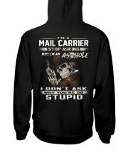 Mail Carrier Hooded Sweatshirt back