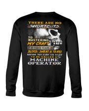 Machine Operator Crewneck Sweatshirt thumbnail