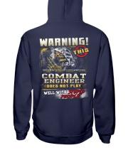 Combat Engineer Hooded Sweatshirt back