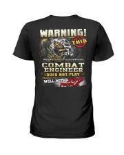Combat Engineer Ladies T-Shirt thumbnail