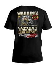 Combat Engineer V-Neck T-Shirt thumbnail