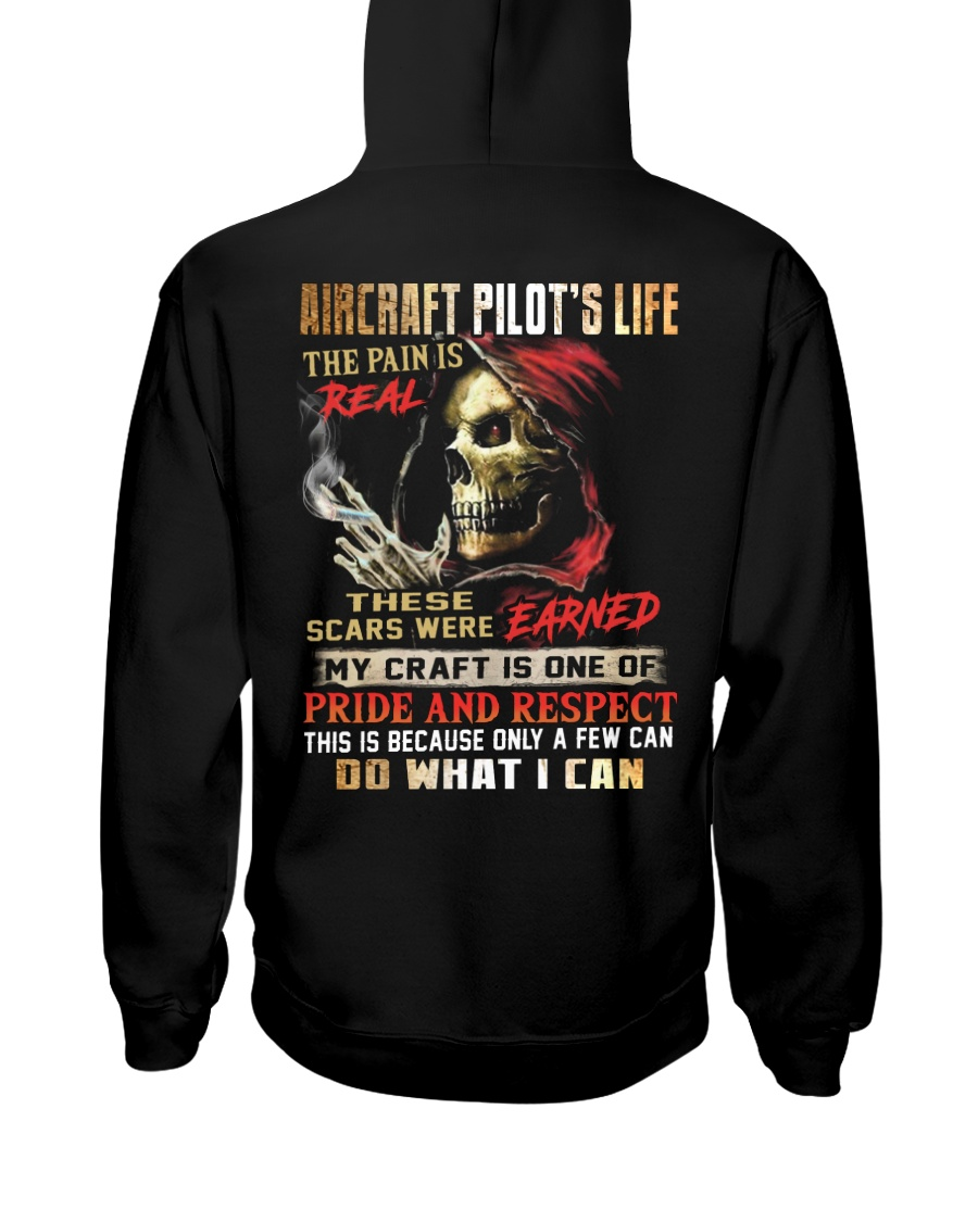 Aircraft Pilot Hooded Sweatshirt
