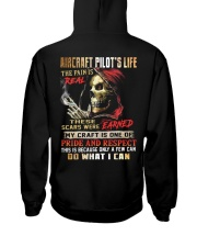 Aircraft Pilot Hooded Sweatshirt back