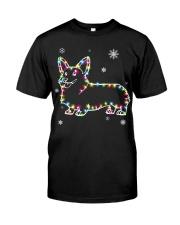 Corgi Dog Christmas Shirt Classic T-Shirt front