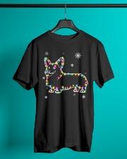 Corgi Dog Christmas Shirt Classic T-Shirt lifestyle-mens-crewneck-front-3