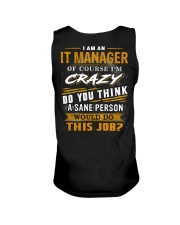 IT Manager Unisex Tank thumbnail