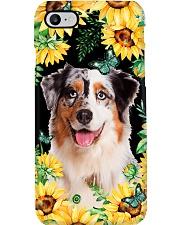 Australian Shepherd Flower Phone Case Phone Case i-phone-8-case