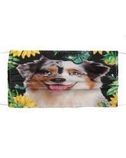 Australian Shepherd Flower Phone Case Cloth face mask thumbnail