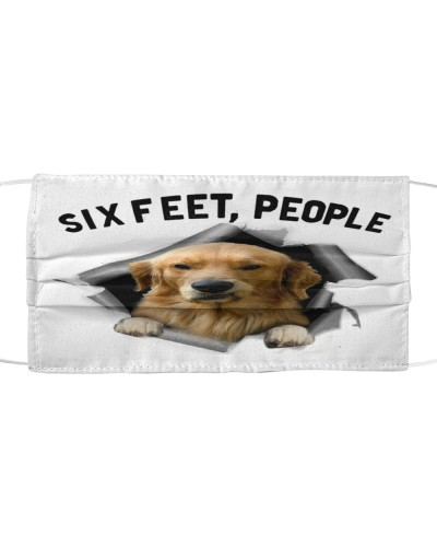Golden Retriever 6 Feet People Limited Edition