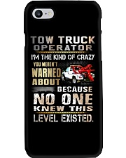 Tow Truck Operator Phone Case thumbnail