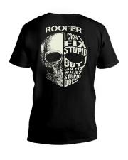 Roofer V-Neck T-Shirt thumbnail