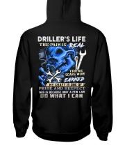 Driller Life Hooded Sweatshirt back