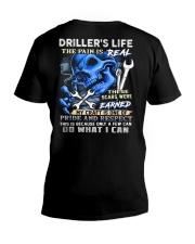 Driller Life V-Neck T-Shirt tile