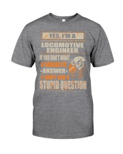 Locomotive Engineer Exclusive Shirt Classic T-Shirt tile
