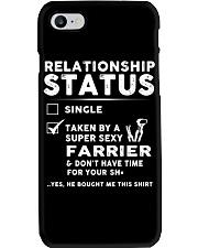 Farrier Relationship Status Job Shirt Phone Case thumbnail