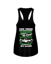 Tow Truck Operator Ladies Flowy Tank thumbnail