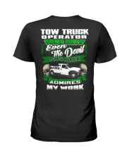 Tow Truck Operator Ladies T-Shirt thumbnail