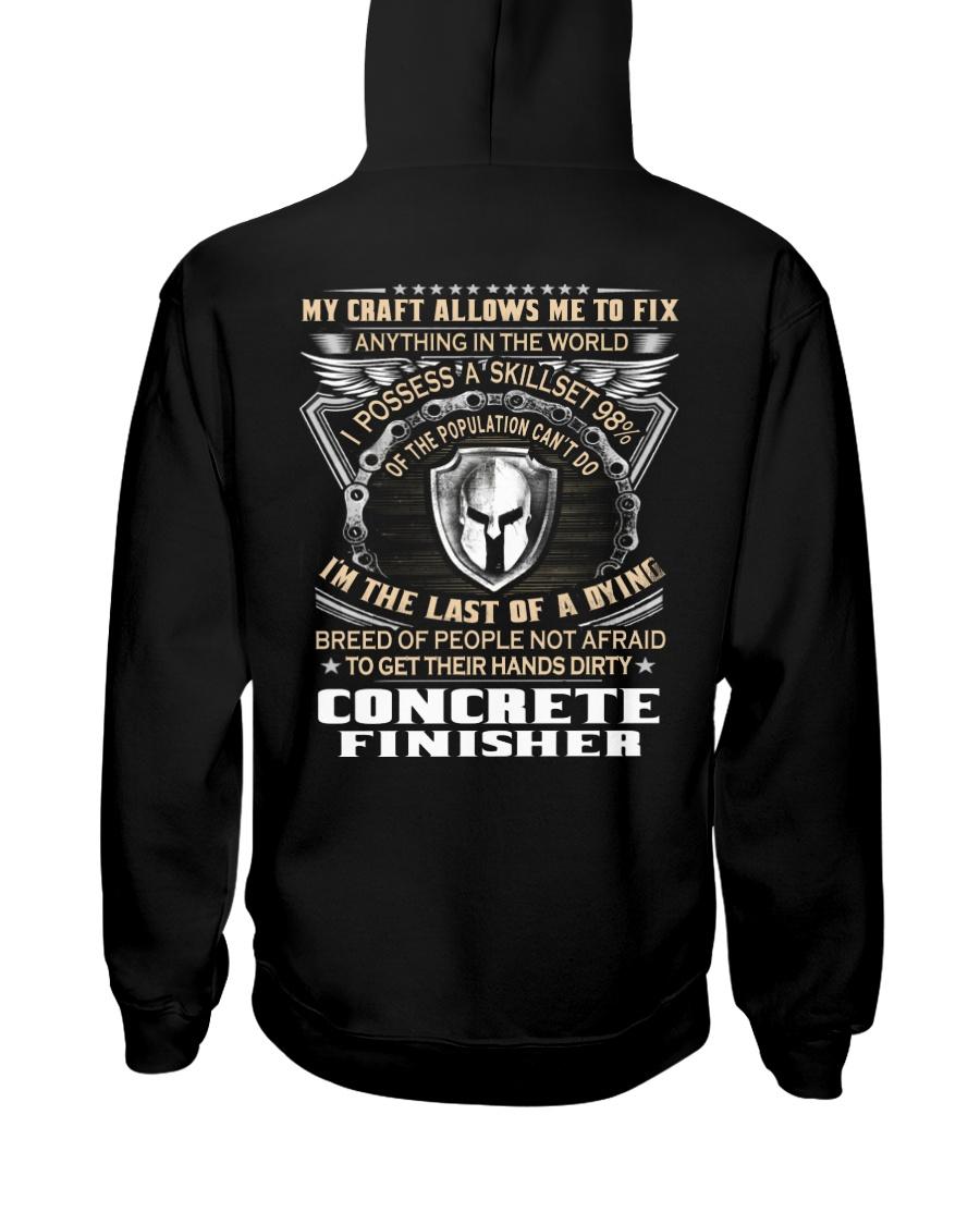 Concrete Finisher Hooded Sweatshirt