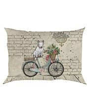 Bull Terrier All Over Shirt Rectangular Pillowcase thumbnail