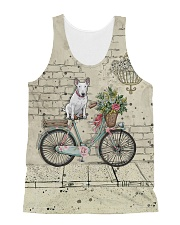 Bull Terrier All Over Shirt All-over Unisex Tank thumbnail