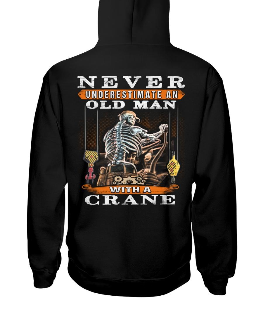Crane Operator Hooded Sweatshirt