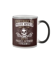 Police Officer Color Changing Mug thumbnail