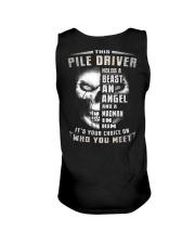 Pile Driver Unisex Tank thumbnail