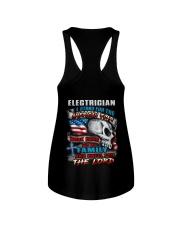 Electrician Ladies Flowy Tank thumbnail