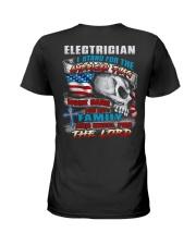 Electrician Ladies T-Shirt thumbnail