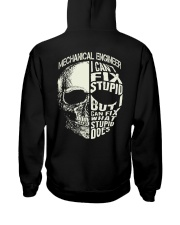 Mechanical Engineer Hooded Sweatshirt back