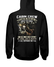 Cabin Crew Hooded Sweatshirt back