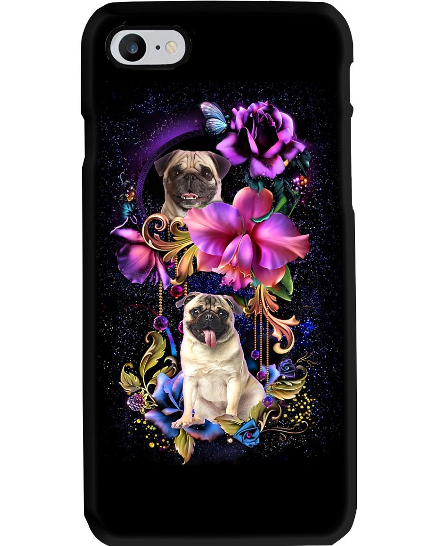 Pug Dog Flower Phone Case Phone Case