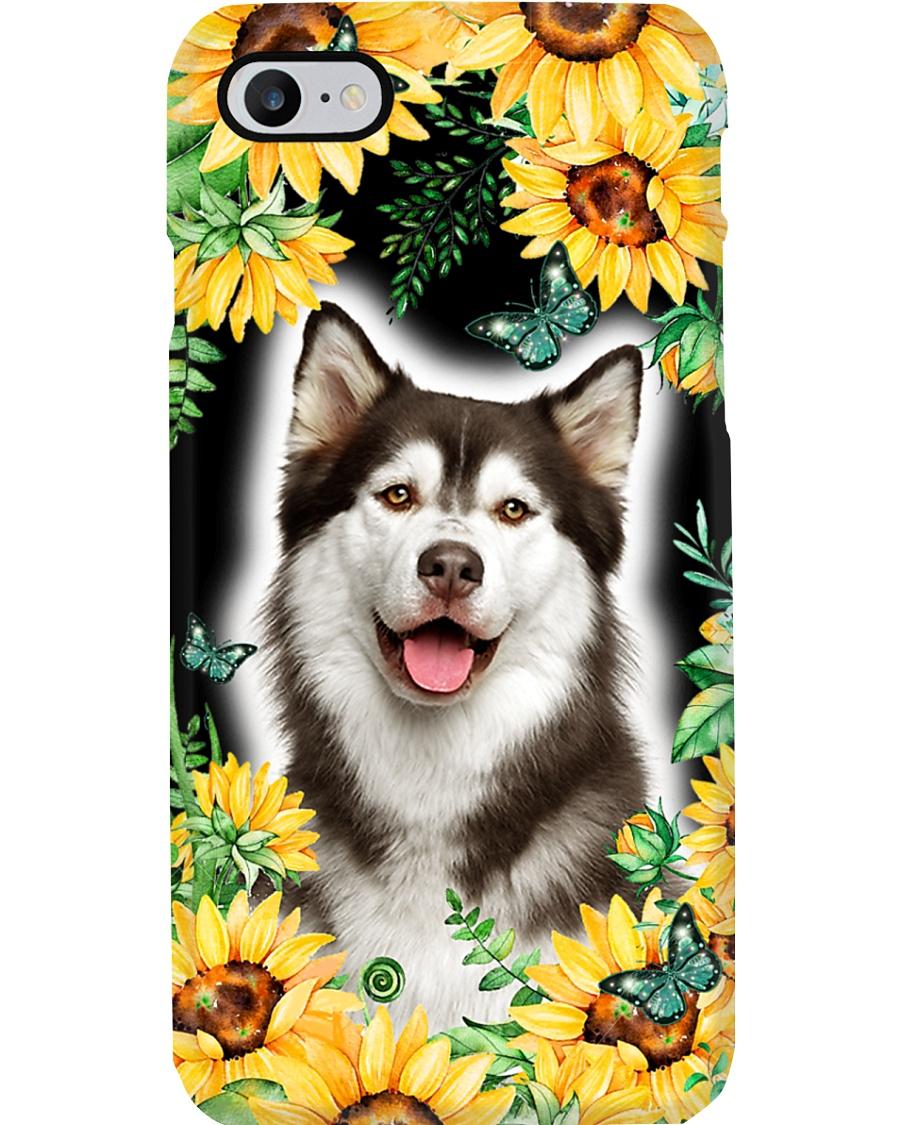 Husky FLower Phone Case Phone Case