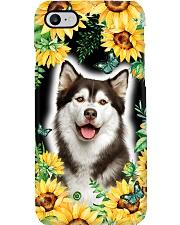 Husky FLower Phone Case Phone Case i-phone-7-case
