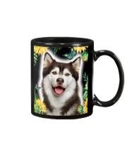 Husky FLower Phone Case Mug thumbnail