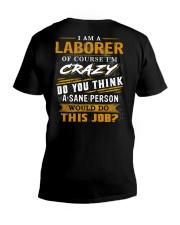 Laborer V-Neck T-Shirt thumbnail