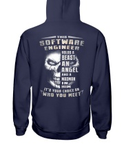 Software Engineer Hooded Sweatshirt back