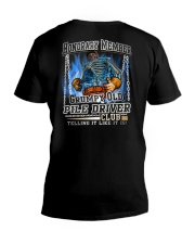 Pile Driver V-Neck T-Shirt thumbnail