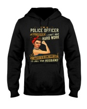Police Officer Hooded Sweatshirt tile