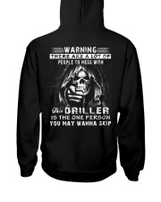 Driller Exclusive Shirts Hooded Sweatshirt back
