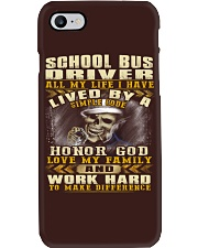 School Bus Driver Phone Case thumbnail