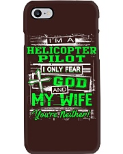 Helicopter Pilot Phone Case thumbnail