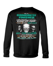 Concrete Finisher Crewneck Sweatshirt thumbnail