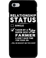 Farmer Farm Realationship Status Shirt Phone Case thumbnail