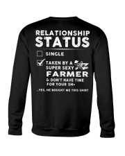Farmer Farm Realationship Status Shirt Crewneck Sweatshirt thumbnail