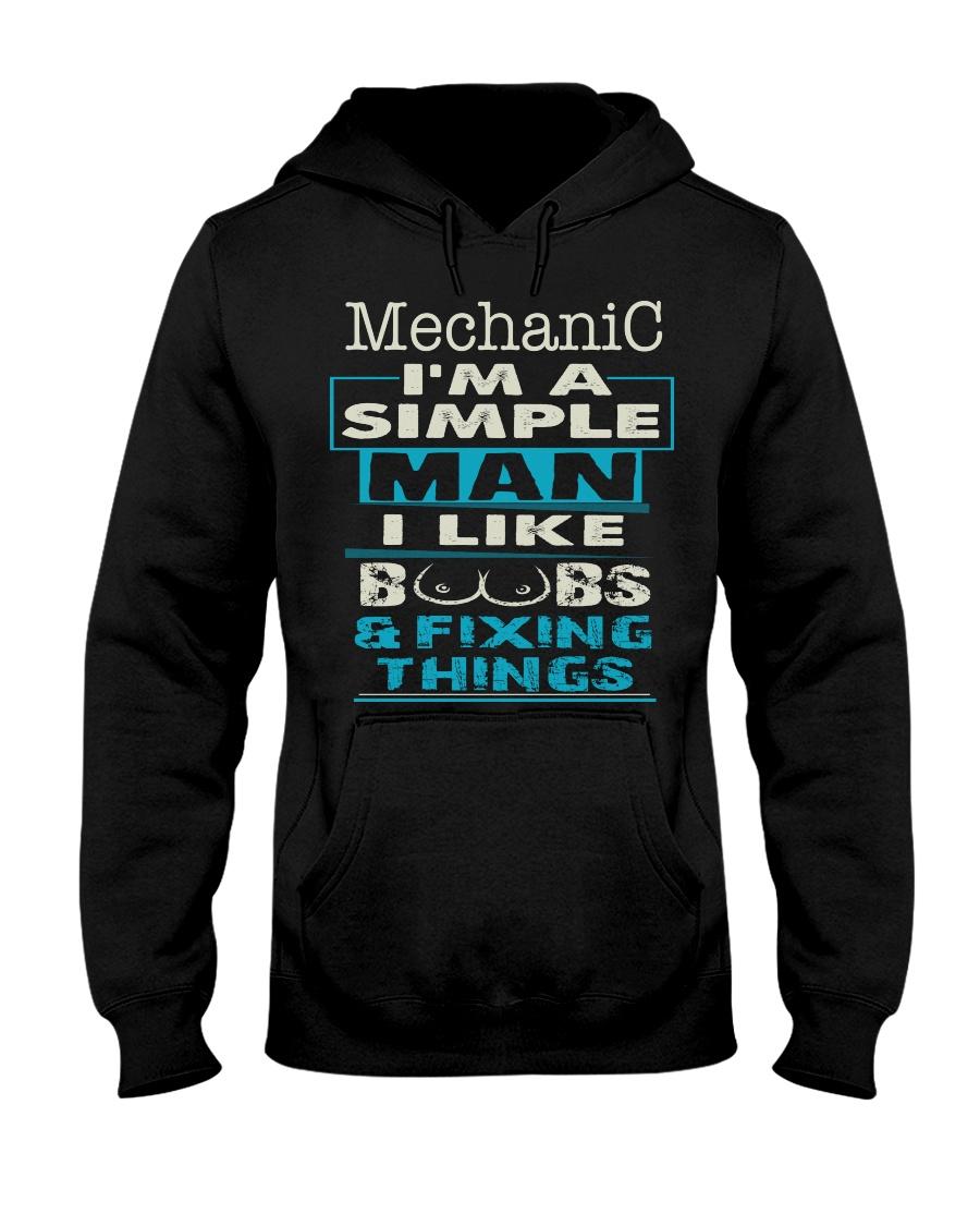 Mechanic Exclusive Shirt Hooded Sweatshirt