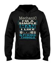 Mechanic Exclusive Shirt Hooded Sweatshirt front