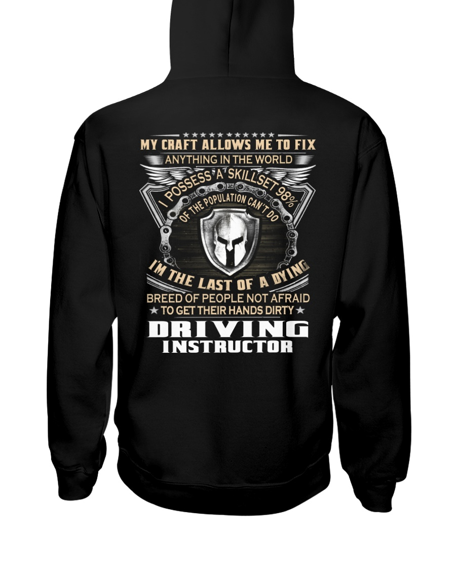 Driving Instructor Hooded Sweatshirt