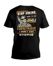 Cabinetmaker V-Neck T-Shirt thumbnail