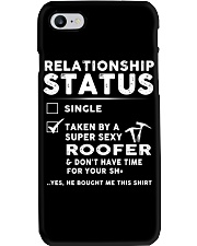 Roofer Roofing Relationship Status Job Shirt Phone Case tile